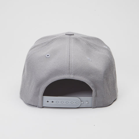 Yupoong The Classic Snapback Silver