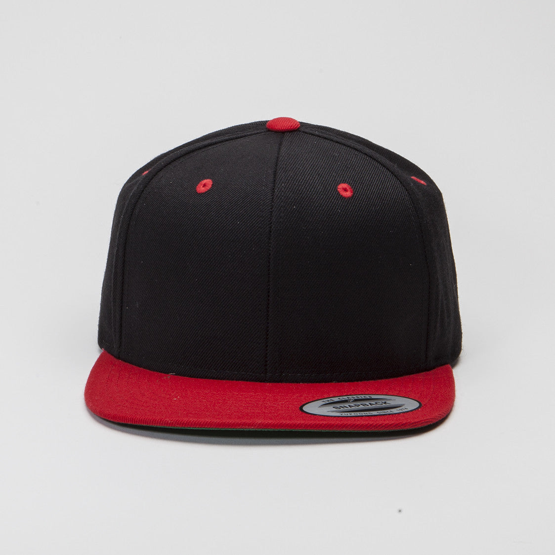 Yupoong The Classic Snapback Black Red  d05bb47790e