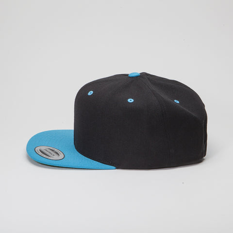 Yupoong The Classic Snapback Black/Teal