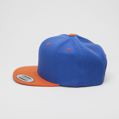 Yupoong The Classic Snapback Royal/Orange