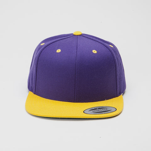 Yupoong The Classic Snapback Purple/Gold
