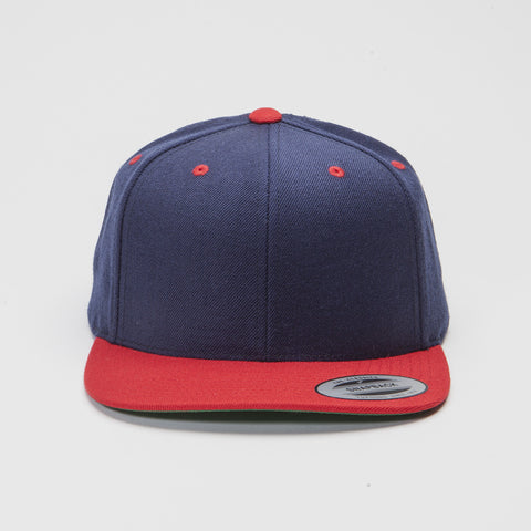 Yupoong The Classic Snapback Navy/Red