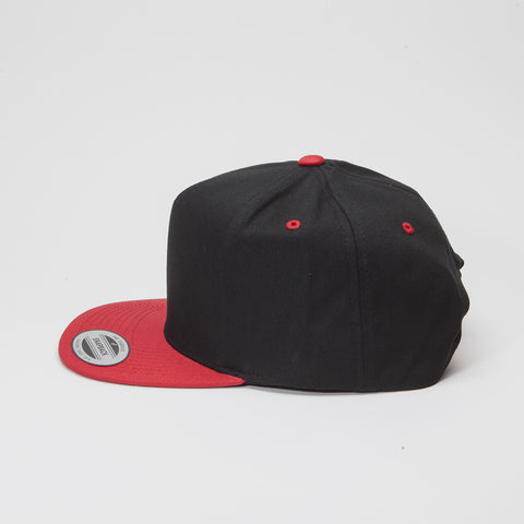 Yupoong The Classic 5 Panel Black/Red