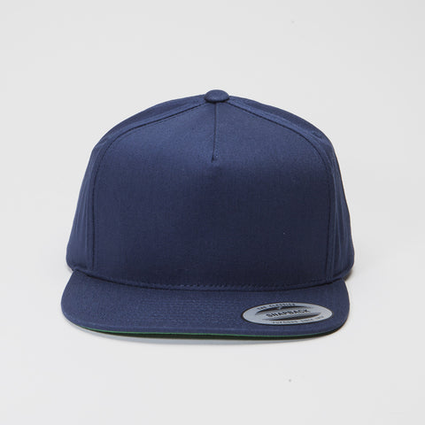 Yupoong The Classic 5 Panel Snapback Navy