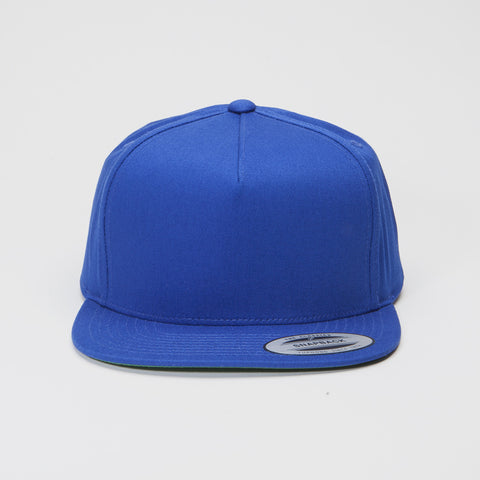 Yupoong The Classic 5 Panel Snapback Royal