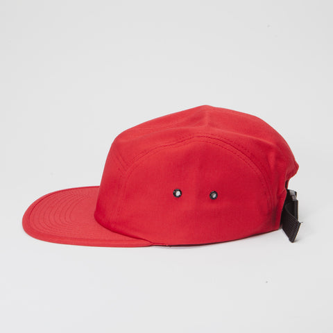 Yupoong Classic Jockey Cap 5 Panel Red