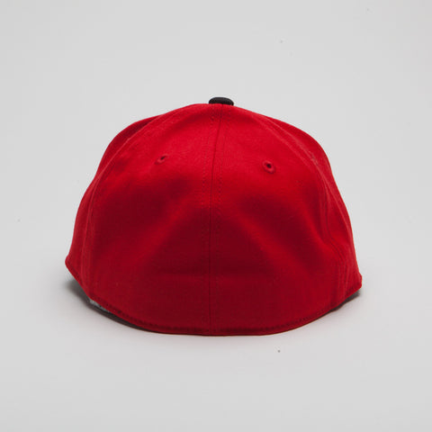 Yupoong Flexfit Fitted Red/Black