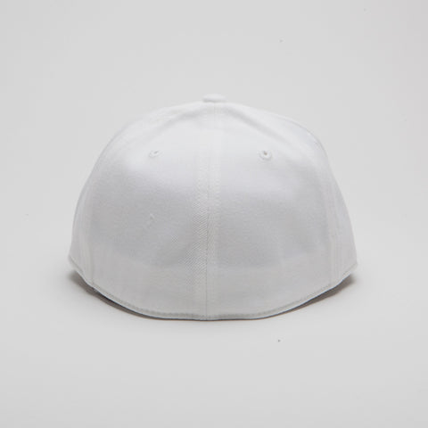 Yupoong Flexfit Fitted White