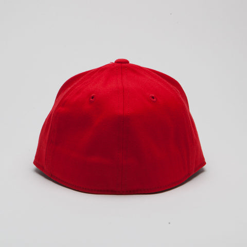 Yupoong Flexfit Fitted Red