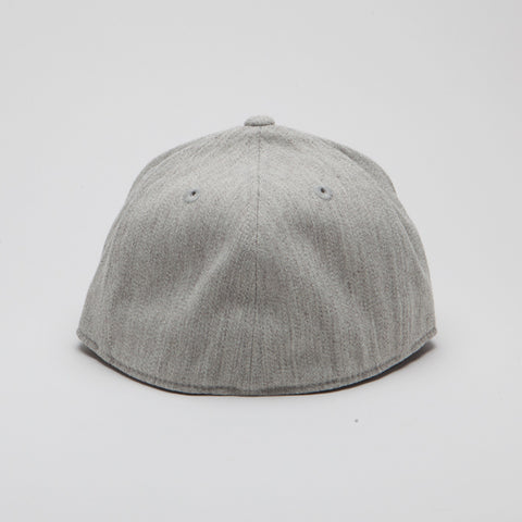 Yupoong Flexfit Fitted Heather Grey