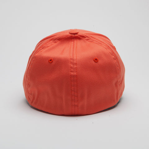 Yupoong Flexfit Curved Spicy Orange