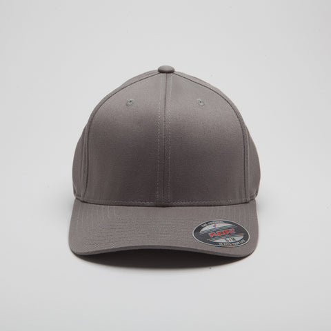 Yupoong Flexfit Curved Grey