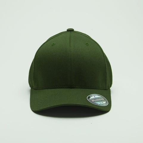 Yupoong Flexfit Curved Olive