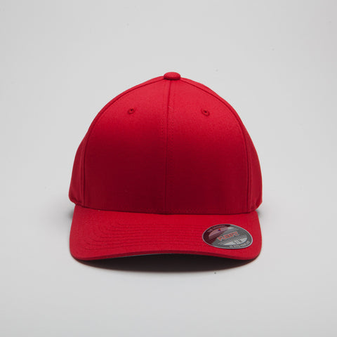 Yupoong Flexfit Curved Red