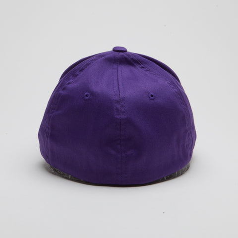 Yupoong Flexfit Curved Purple