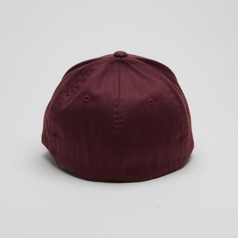Yupoong Flexfit Curved Maroon