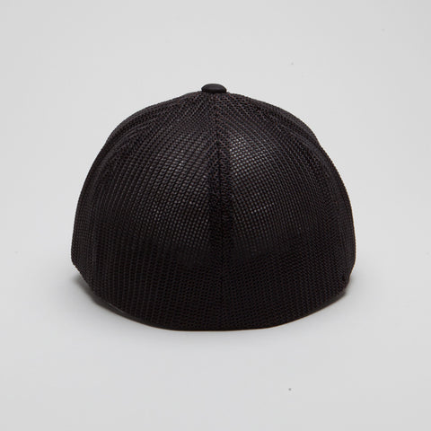 Flexfit Mesh Trucker Hat Black