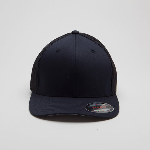 Flexfit Mesh Trucker Hat Dark Navy