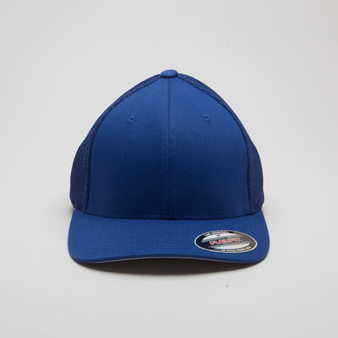 Flexfit Mesh Trucket Hat Royal