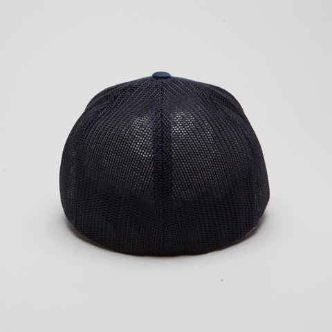 Flexfit Mesh Trucker Hat Navy