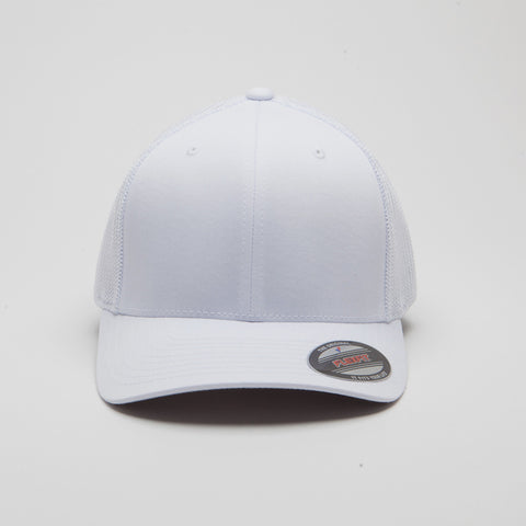 Flexfit Mesh Trucker Hat White