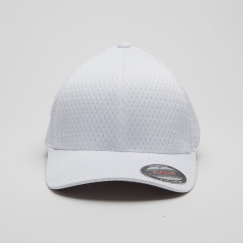 Flexfit Athletic Mesh White