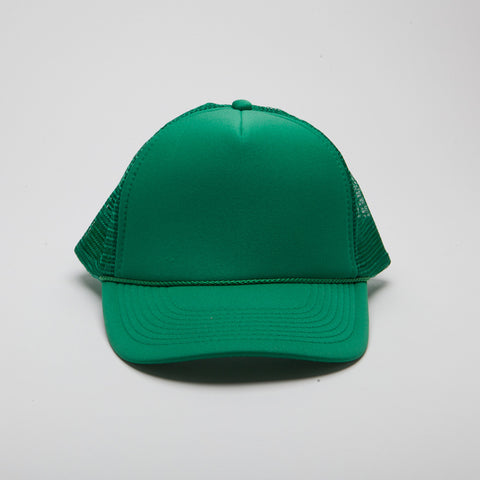 Polyester Foam Front Five Panel Kelly Green
