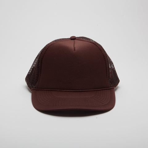 Polyester Foam Five Panel Brown