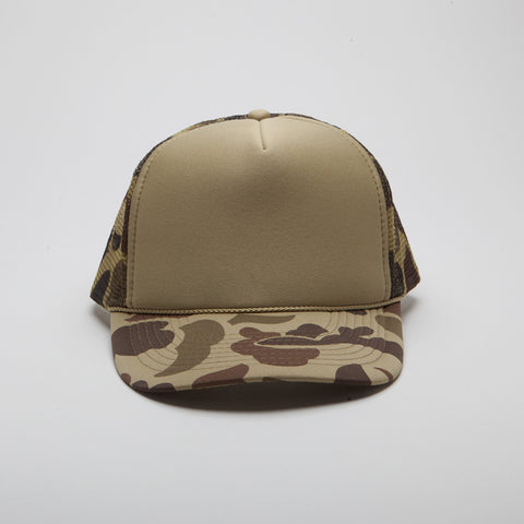 Polyester Foam Front Five Panel Camo