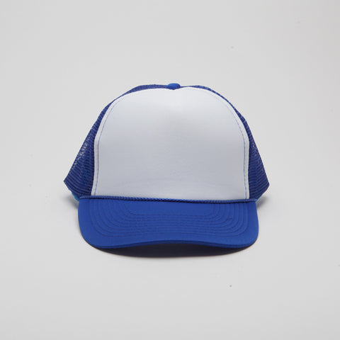 Polyester Foam Front Five Panel Royal/White/Royal