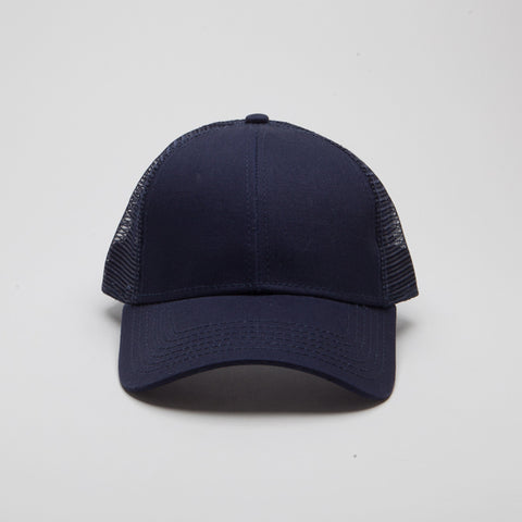 Cotton Twill Low Profile Pro Style Mesh Back Navy