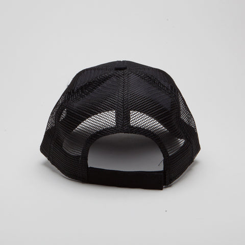 Cotton Twill Low Profile Pro Style Mesh Back Black