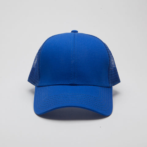 Cotton Twill Low Profile Pro Style Mesh Back Royal