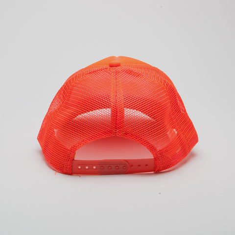 Polyester Foam Front Five Panel Neon Orange