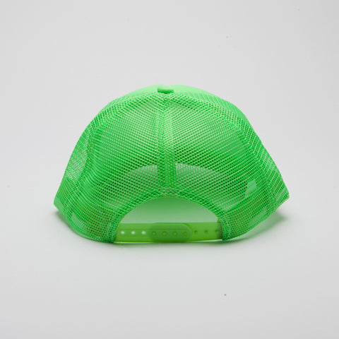 Polyester Foam Front Five Panel Neon Green