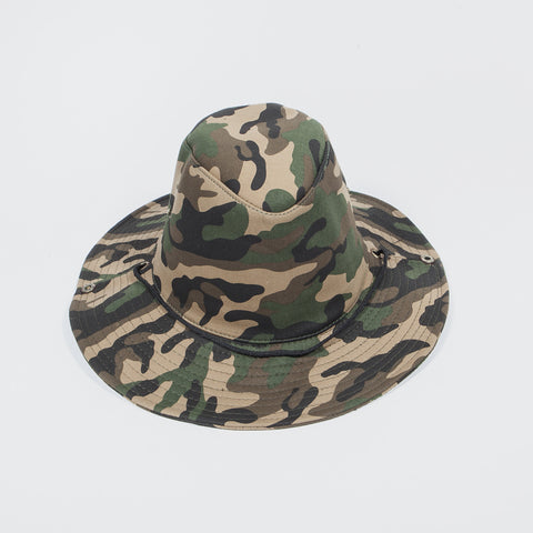 Bucket Hat Green Camo