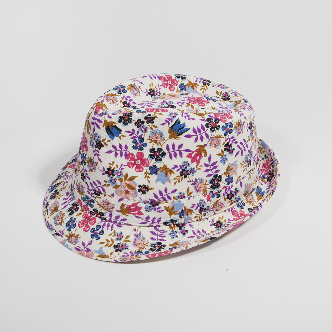 Floral Fedora Hat 8  32f770dcee0