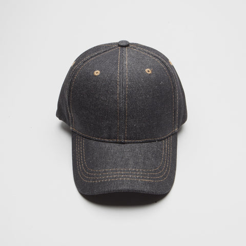 Black Denim Jean Hat