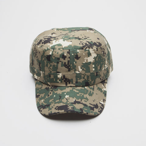 Green Digital Camo Castro Hat
