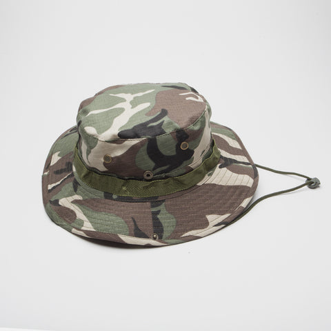 Bucket hat Boonie Fishing Hunting Outdoor Green Camo