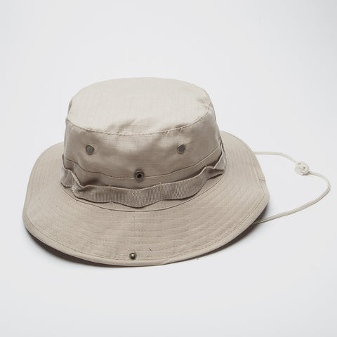 Bucket hat Boonie Fishing Hunting Outdoor Beige