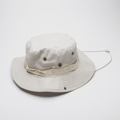 Bucket hat Boonie Fishing Hunting Outdoor Ivory