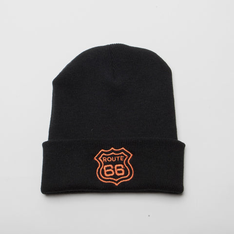 Route 66 Long Cuff Beanie (Available 2 colors)