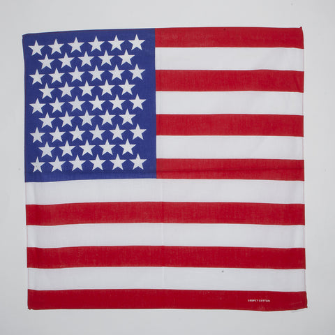 USA Flag Bandanas (Dozen Packed)
