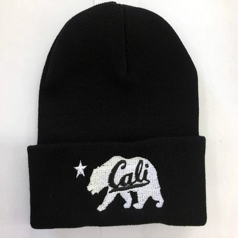 Whit Cali Bear with Cali logo (Available 3 colors)