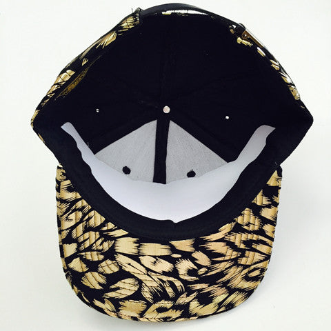 Suede Snapback LEOPARD 1