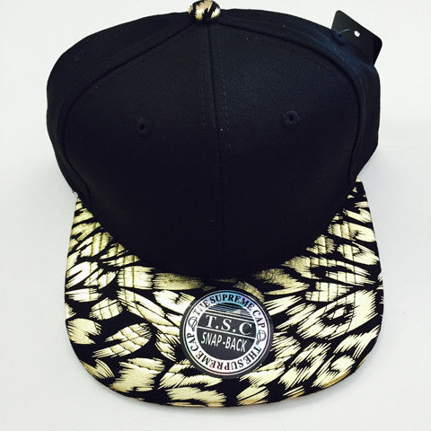 Suede Snapback LEOPARD 2