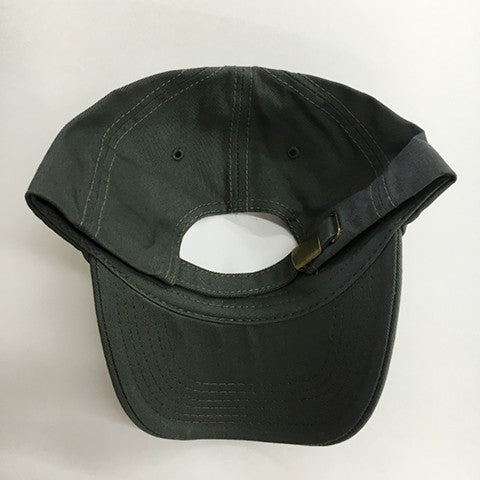 Low Profile Cotton Twill Dad Hat - Dark Grey