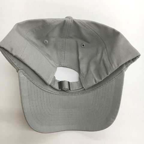 Low Profile Cotton Twill Dad Hat - Light Grey