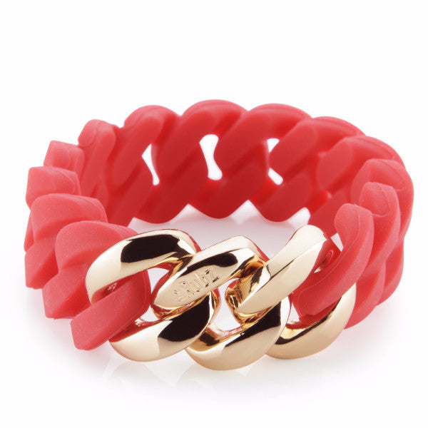 Classic20mm - Red & Soft Gold, The Rubz